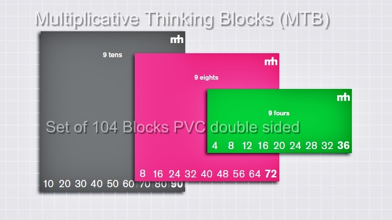 Multiplicative Thinking Blocks